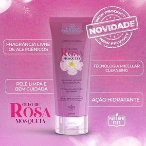 SABONETE FACIAL ÓLEO DE ROSA MOSQUETA 100ML - PHALLEBEAUTY