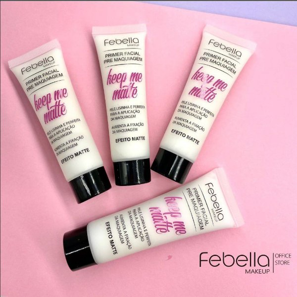 Primer facial pré-maquiagem matte febella
