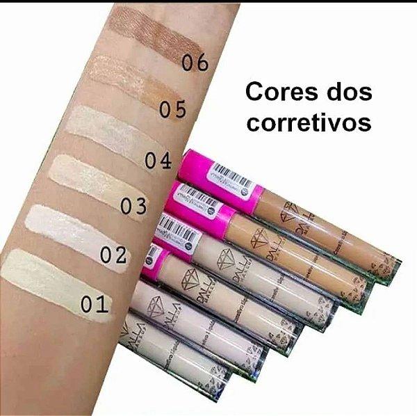 Corretivo Líquido Vegano de Alta Cobertura Dalla Makeup