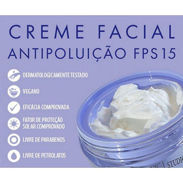 CREME FACIAL ANTIPOLUIÇÃO FPS15