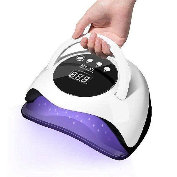Cabine LED UV Sun V1 168W 45 Leds Bivolt