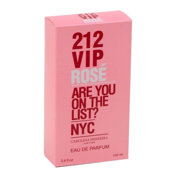 Perfume Inspiraçao 212 Vip Rose