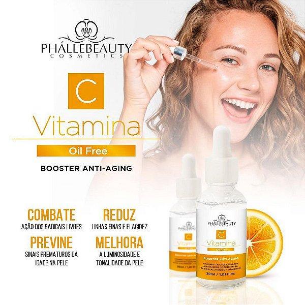 Serum Vitamina C - Phallebeauty BOOSTER ANTI-AGING