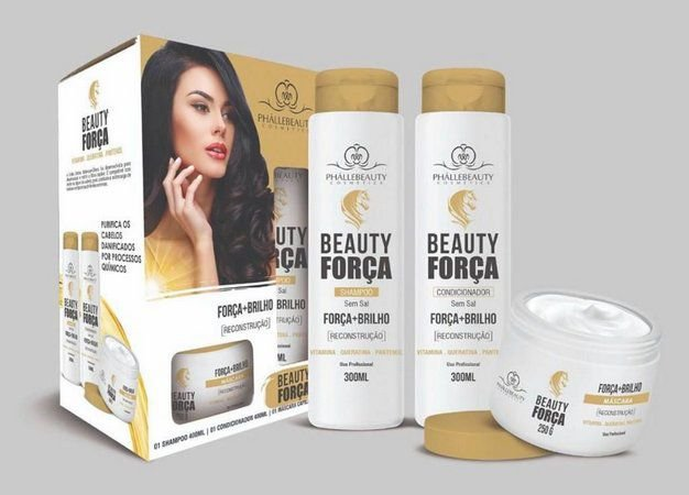 KIT CAPILAR BEAUTY FORCA