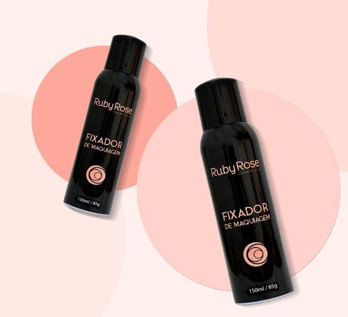 Fixador de Maquiagem Em Spray - Ruby Rose