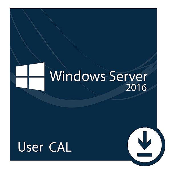 Pacote com 5 CALs de Acesso Server 2016