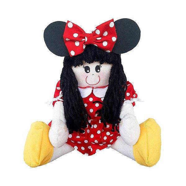 Boneca de Pano Minnie