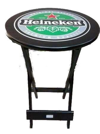 Mesa Bistrô Dobrável Heineken