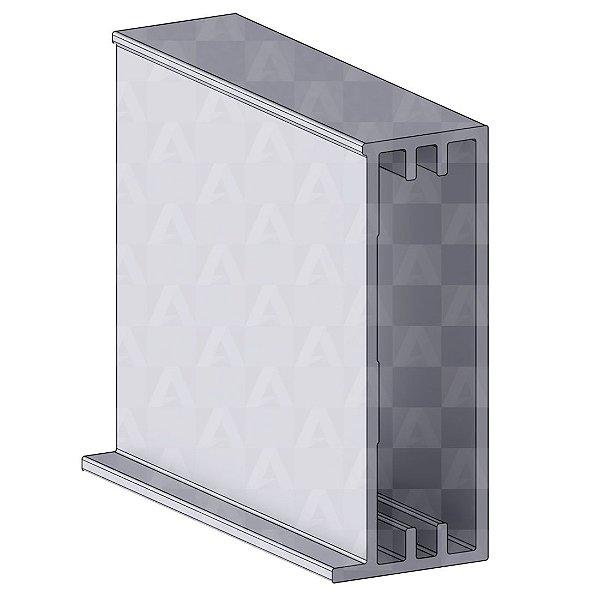 Perfil de Aluminio Longato 6 metros