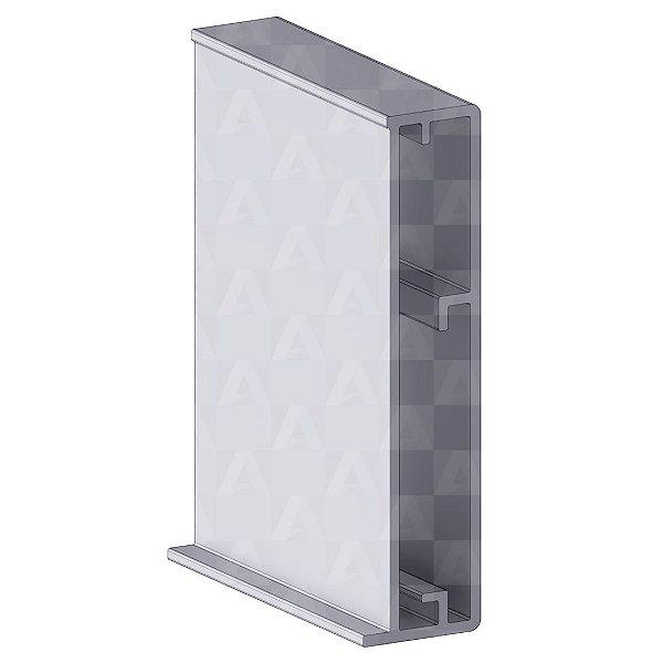 Perfil de Aluminio Vibrate 6 mts