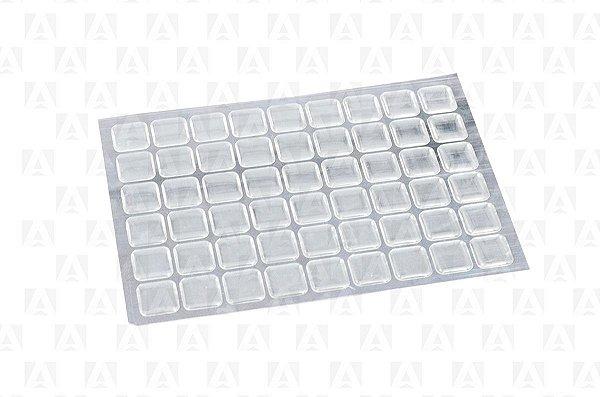 Batente de Silicone Adesivo 20 x 20 mm Cento