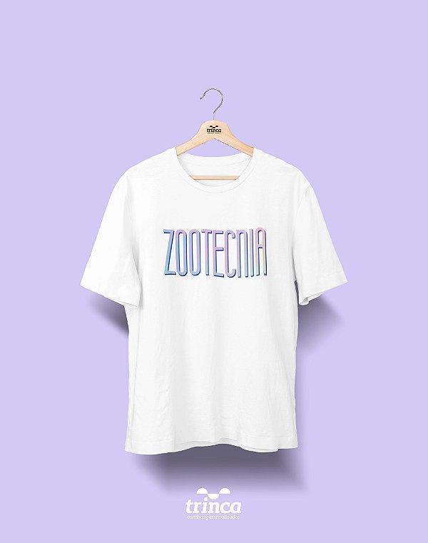 Camiseta Universitária - Zootecnia - Tie Dye - Basic
