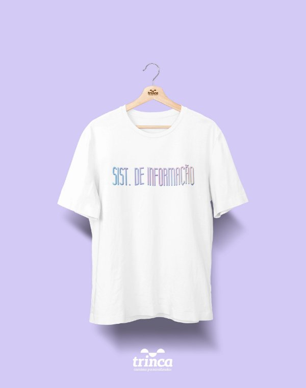 Camiseta Universitária - Sistemas de Informação - Tie Dye - Basic