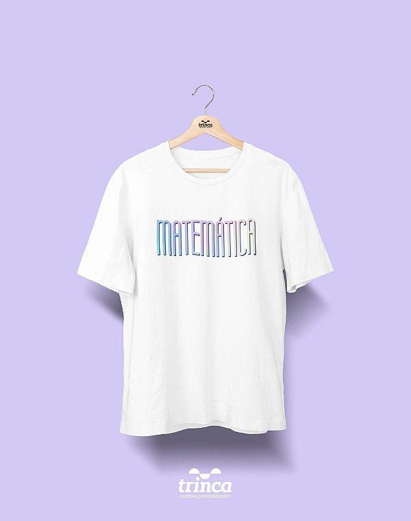 Camiseta Universitária - Matemática - Tie Dye - Basic