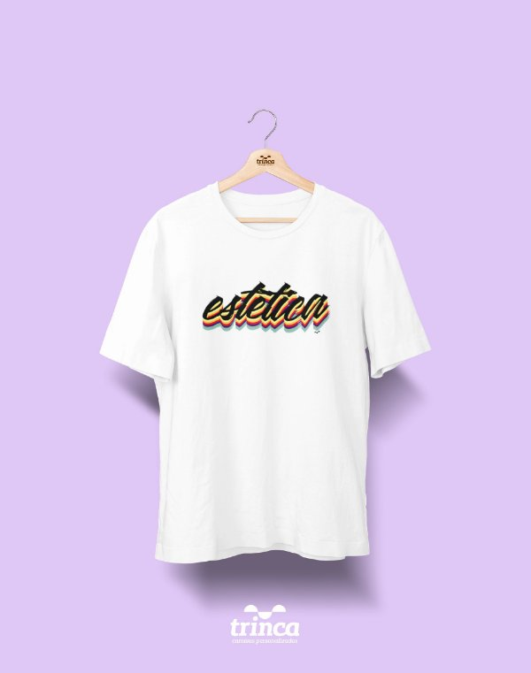 Camiseta Universitária - Estética - Grafite - Basic