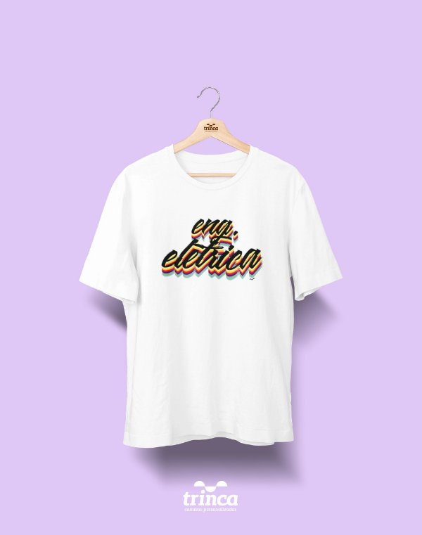 Camiseta Universitária - Engenharia Elétrica - Grafite - Basic