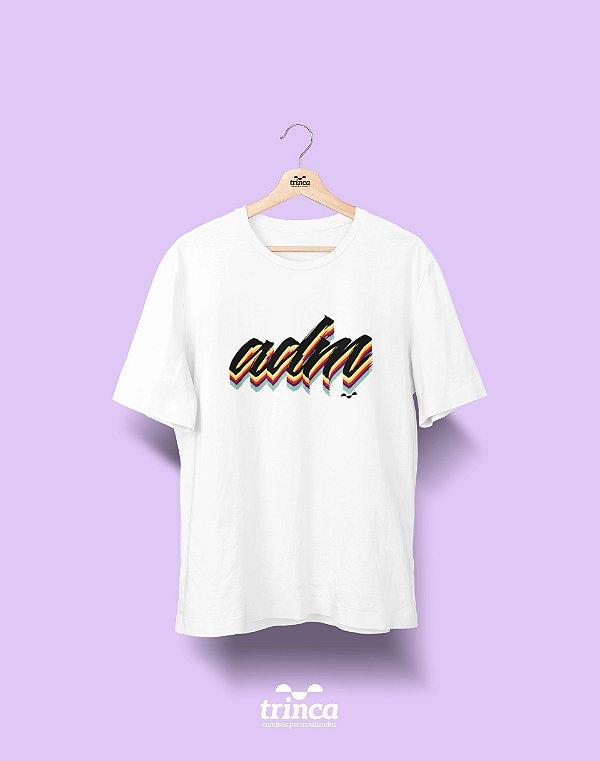 Camiseta Universitária - Administração - Grafite - Basic