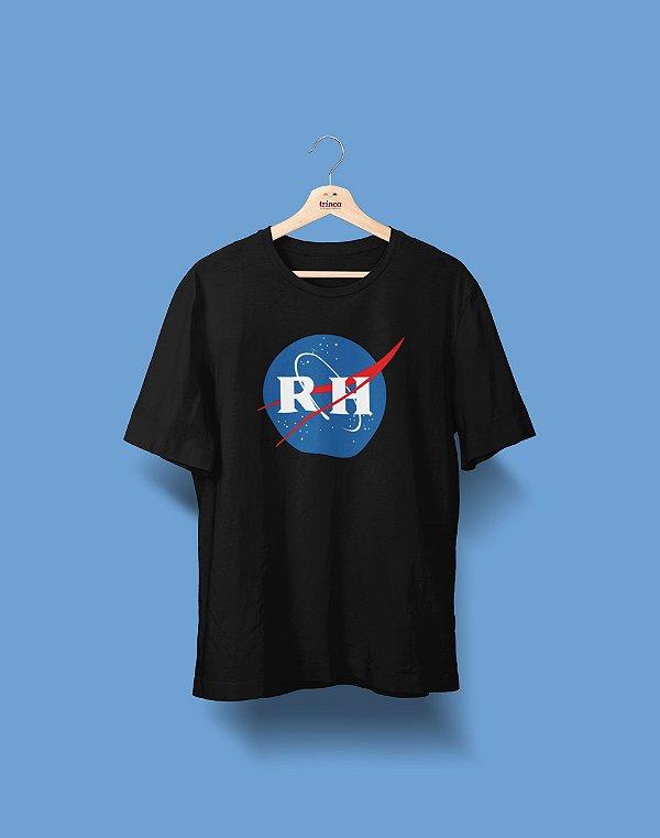 Camiseta Universitária - Recursos Humanos - Nasa - Basic