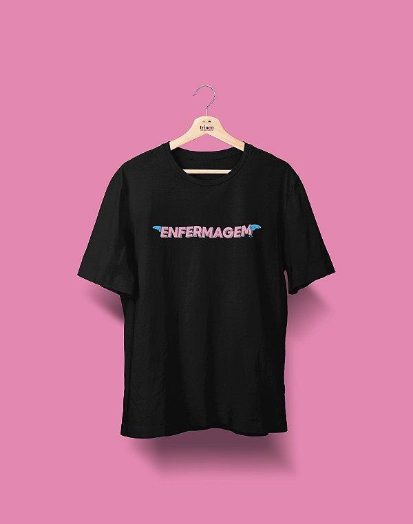 Camiseta Universitária - Enfermagem - Voe Alto - Basic