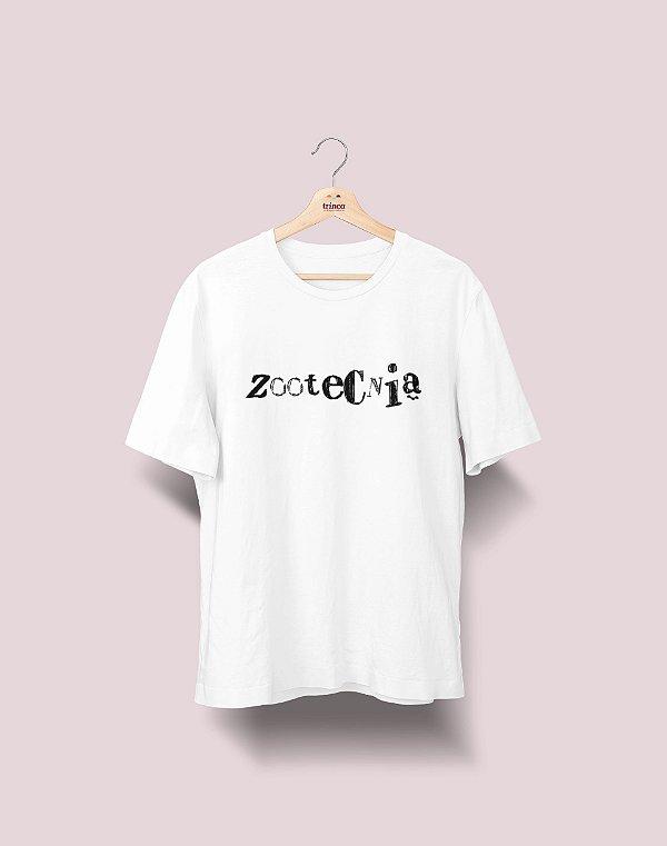 Camiseta Universitária - Zootecnia - Nanquim - Basic