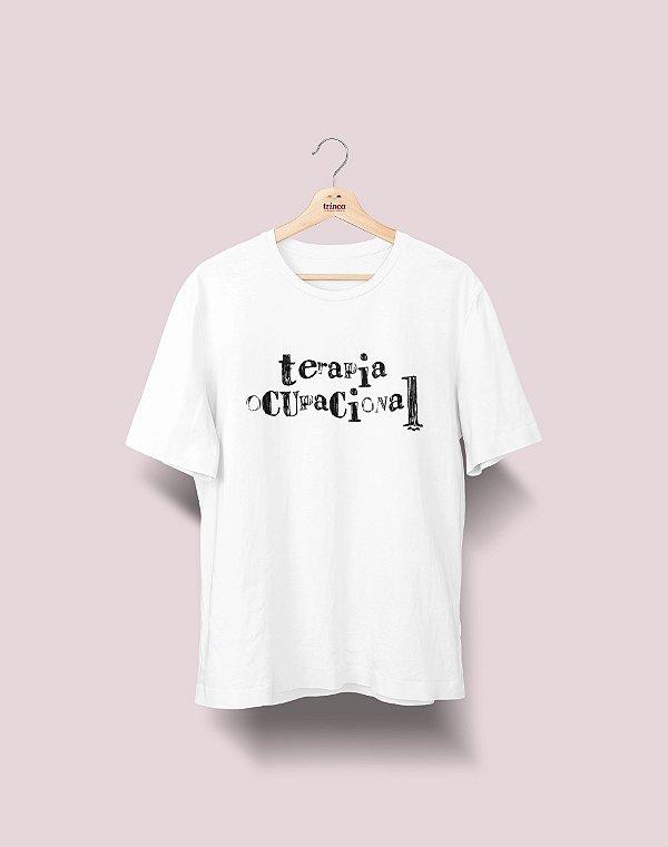 Camiseta Universitária - Terapia Ocupacional - Nanquim - Basic