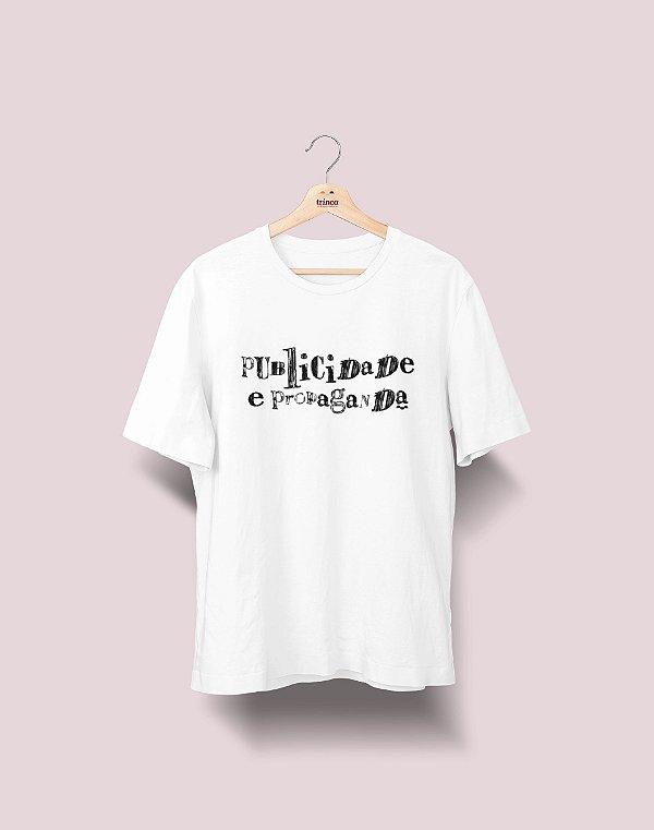 Camiseta Universitária - Publicidade e Propaganda - Nanquim - Basic