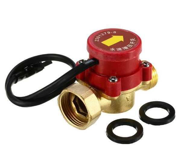 Sensor De Fluxo De Água Interruptor Fluxostato Para Motor Bomba