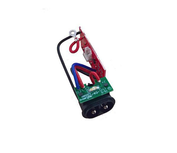 Placa da Bateria e Conector Carregador Máquina Magic Clip Cordless Wahl