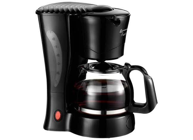 Cafeteira Elétrica Fast Lenoxx 14 Cafés 110-127 Volts