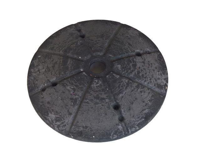 Peso Base Pé Ventilador de Coluna Mallory Delfos Preto