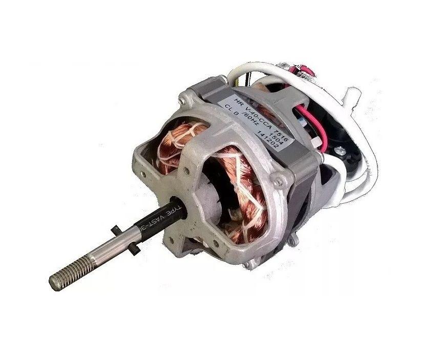 Motor Ventilador Maxi Power Black 40 220 Volts Nv-75 Nv 75 Preto