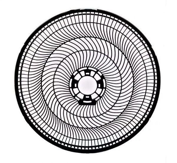 Grade Traseira Ventilador Cadence Eros 40cm Vtr404 vtr 404