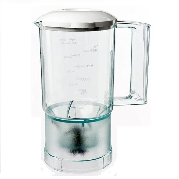 Copo Liquidificador Walita Roma Clean Cristal Com Faca Tampa