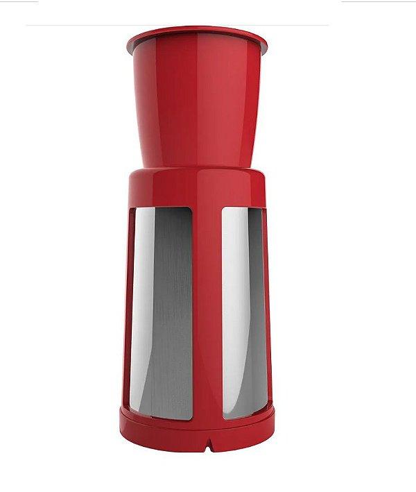 Filtro Do Copo Liquidificador Cadence Liq411 Robust Vermelho