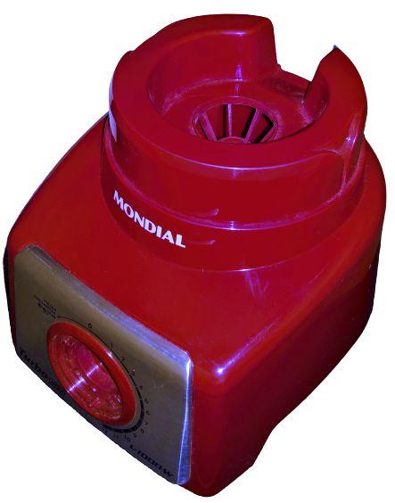 Gabinete Corpo Liquidificador Vermelho Mondial L-1000 L1000w