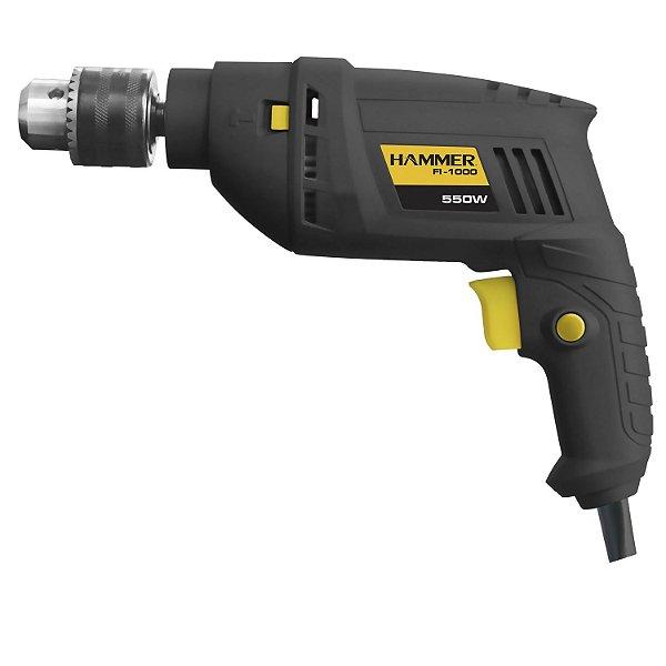 Furadeira Impacto 3/8 550w Hammer 127 Volts Fi-1000