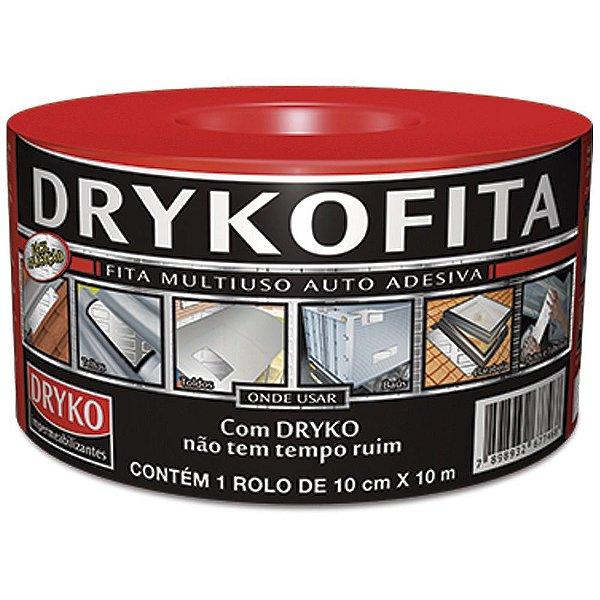 Fita Manta Impermeabilizante Alumínio 10 cm 10 Metros Dryko