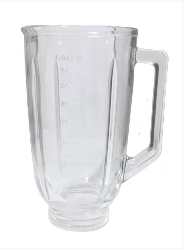 Copo De Vidro Liquidificador Mallory Optima Glass Preto