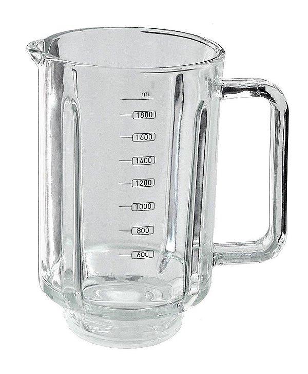 Copo Mallory Liquidificador Glass Taurus 1300w Jarra Vidro