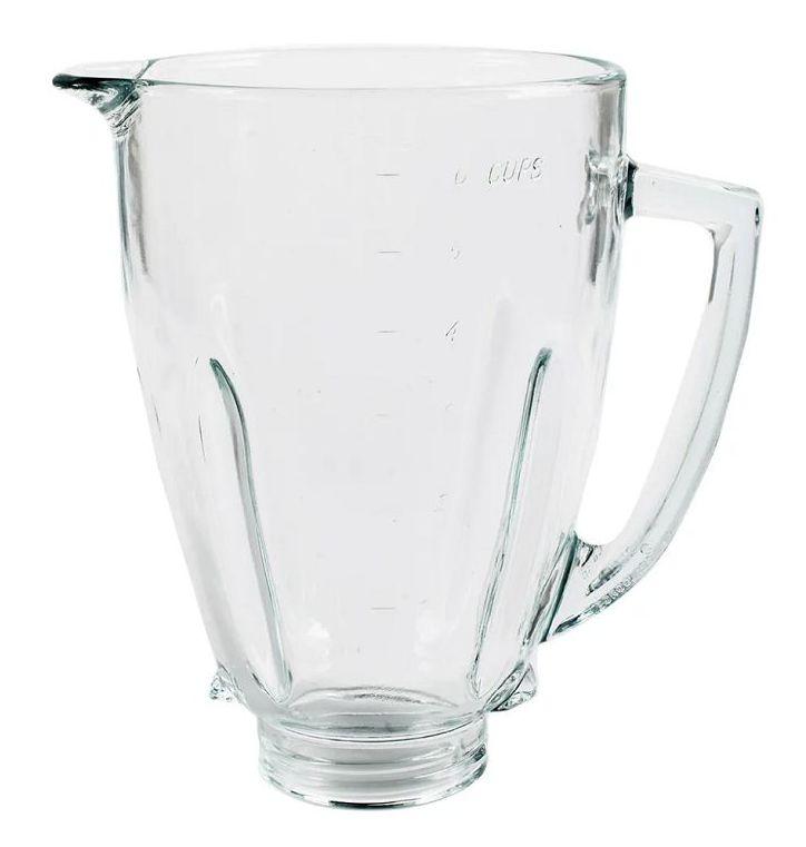 Copo De Vidro Liquidificador Oster 6844-057 Versatile Vermel