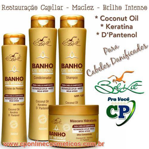 Kit Completo Banho de Verniz - Belkit