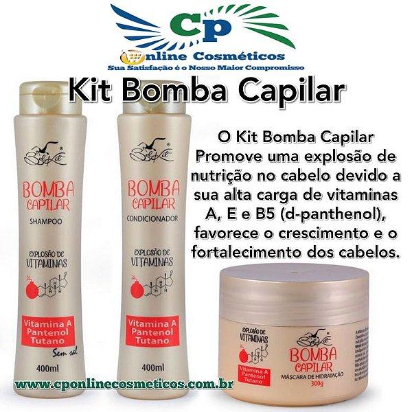 Kit Bomba Capilar - Hidratação Capilar - Belkit