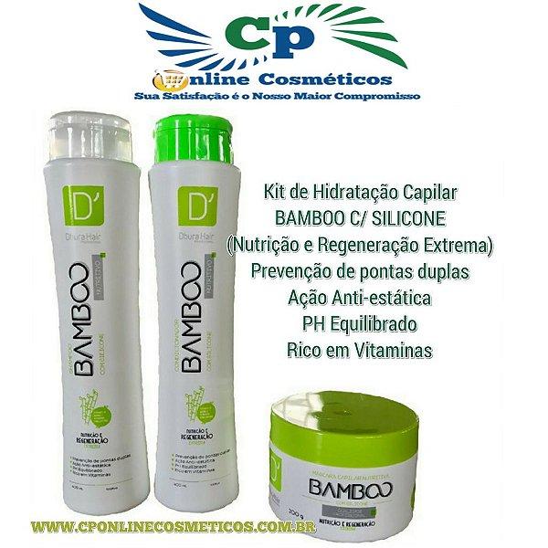 Kit Bamboo Nutritivo - D'oura Hair