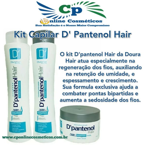 Kit D'Pantenol Hair - D'oura Hair