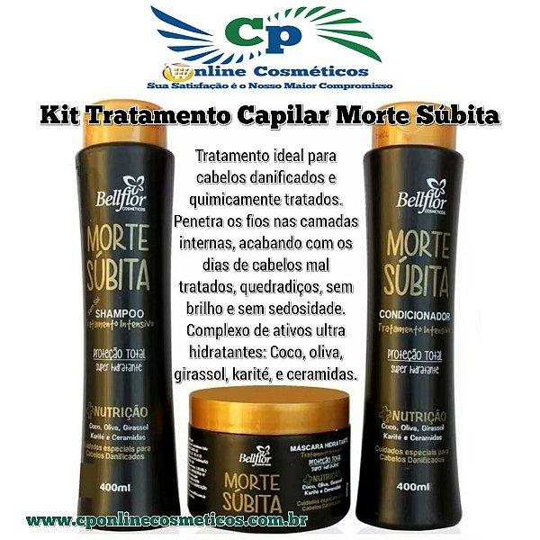 Kit Morte Súbita - Hidratação Capilar - Bellflor