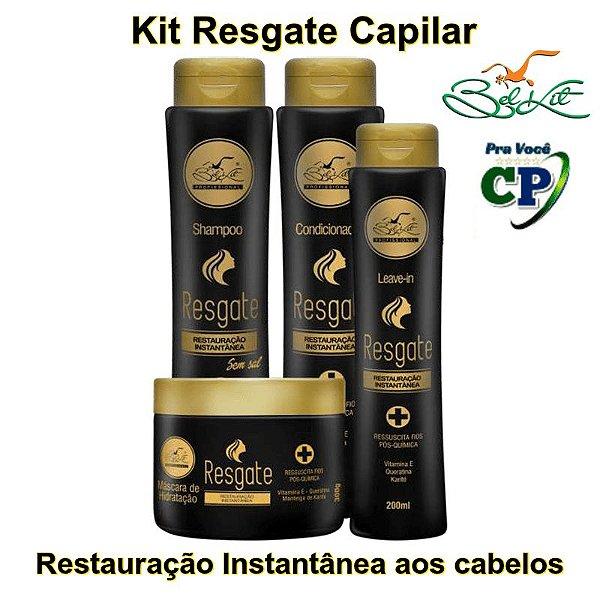 Kit Resgate Capilar - Belkit