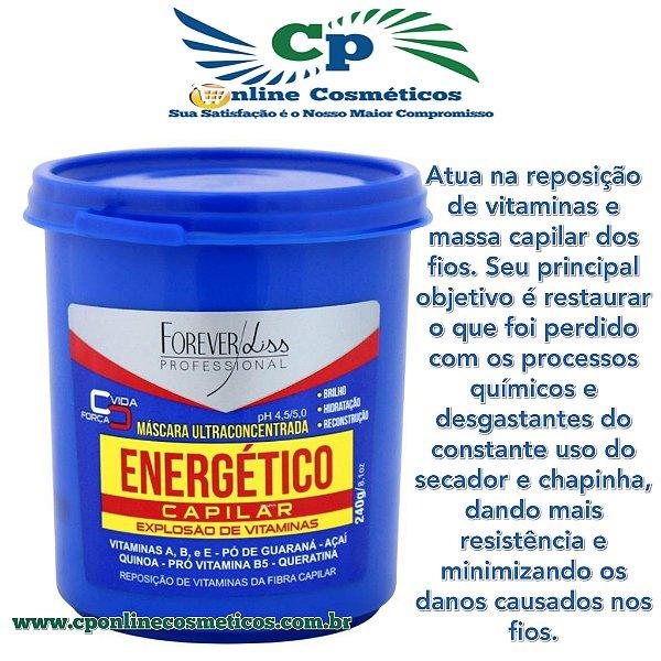Energético Capilar 240 g - Tratamento Capilar - Forever Liss