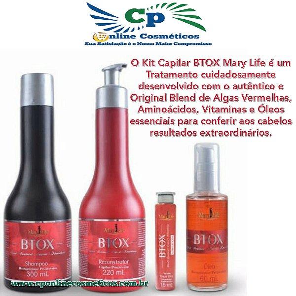 Kit Capilar BTOX - Tratamento Capilar - Mary Life