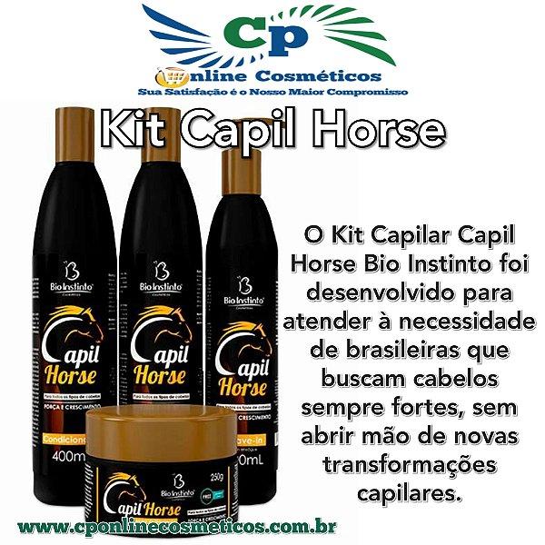 Kit Capil Horse - kit de Tratamento Capilar - Bio Instinto
