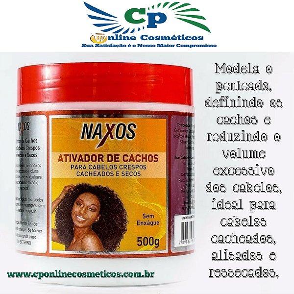 Ativador de Cachos 500 g - Creme de Pentear - Naxos